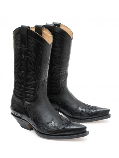 Sendra Western Boots Classic Plus Lackfinish Overlay