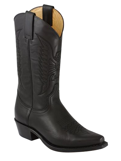 Sendra Western Boots Lucky Eaglequilting - schwarz