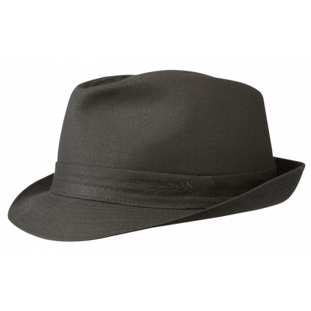 Stetson Hut Teton Cotton - schwarz
