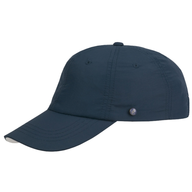 Stetson Basecap Beckley Supplex - blau