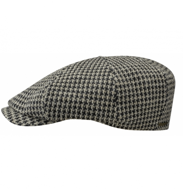 Stetson Flatcap Many Houndstooth