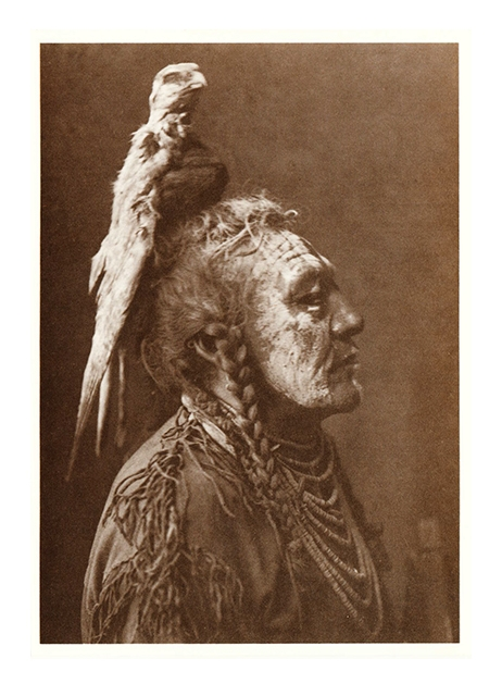 Postkarte Crow-Indianer Two Whistles