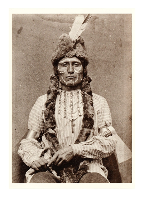 Postkarte Cheyenne Indian