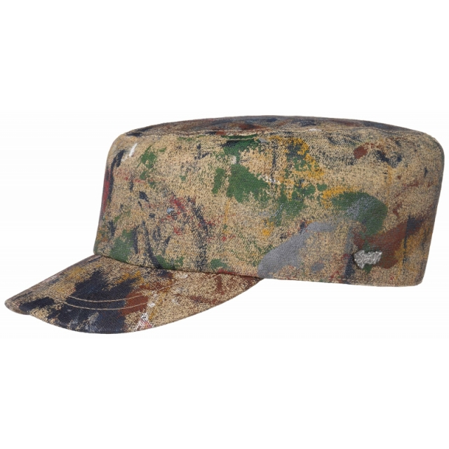 Stetson Army Cap Splash Painted