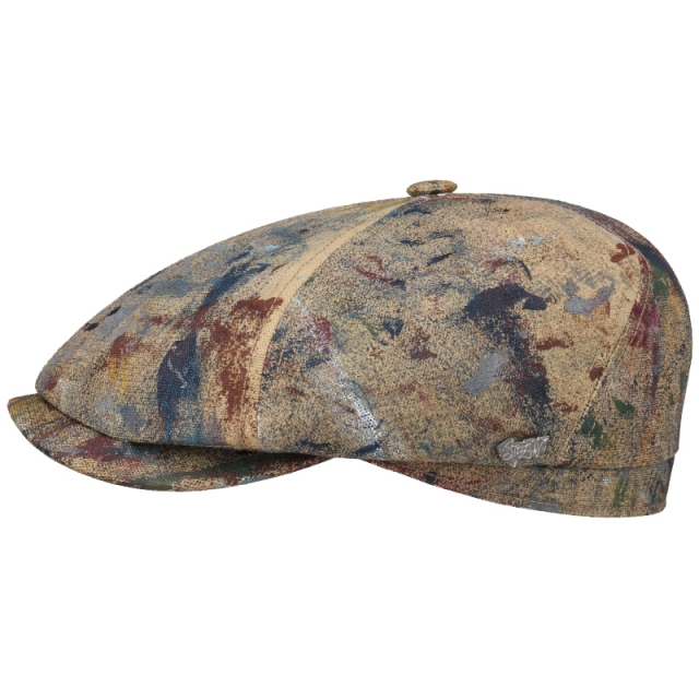 Stetson Flatcap Splash Painted