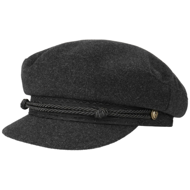 Stetson Captains Cap, Wool Cashmere