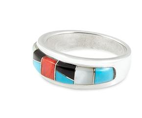 Indianerschmuck Zuni Ring