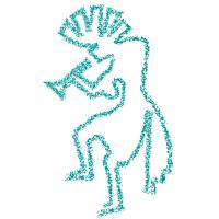 Indianer Symbol Kokopelli