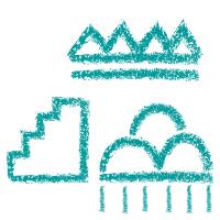 Indianer Symbol Regenzeichen