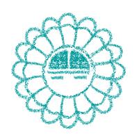 Indianer Symbol Sunface